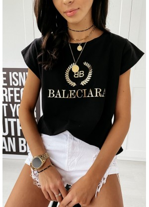 T-shirt Black Baleciara